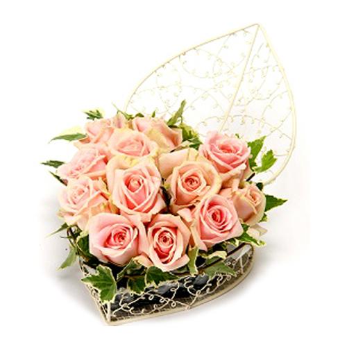 Send Best Heart Shaped Valentines Flower To Japan Florajapan Com