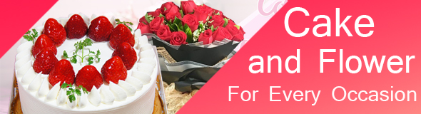 send flowers with cake to japan