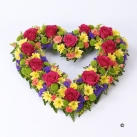 online heart shape flowers to japan