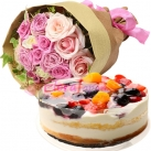 send mothers day flowers with cake to japan