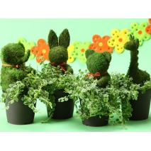 animal topiary plants to japan