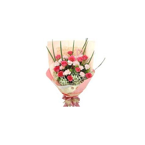 send carnations with rose to japan