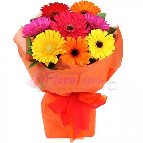send flower arrangement to japan