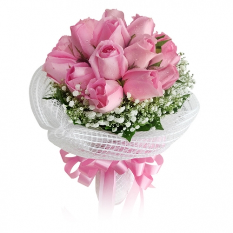 send miss you 12 pink roses to japan