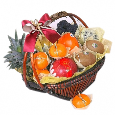 assorted fruits basket to japan