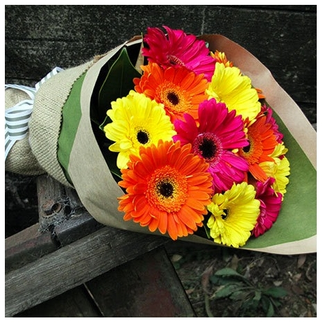 buy garbera bouquet online to japan