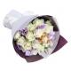 send 1 dozen white roses bouquet to japan
