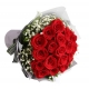 send 1 dozen red roses in bouquet to japan