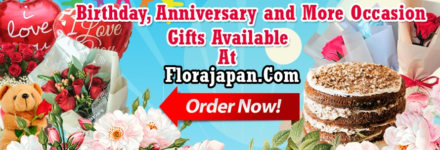 send flower and gift to japan