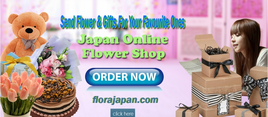 send flowers, cake and gifts to japan
